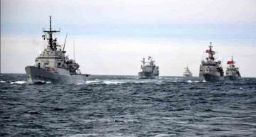 Breaking News! Forțele navale  ale Alianței Nord-Atlantice împreună cu cele ale Ucrainei, desfășoară ample manevre militare în Marea Neagră