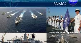 Exerciții navale NATO, în Marea Neagră. Forțele Navale Române, parte din gruparea navală NATO Standing Maritime Group-2