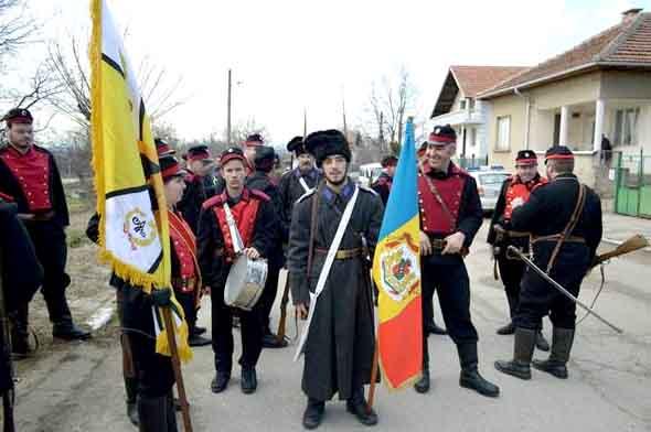 dorobanti_romani_Bulgaria