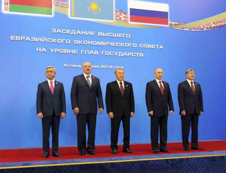 Eurasia - lideri de stat