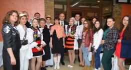 Foto / Românii din dreapta Tisei (Ucraina), în atenția Secretarului de Stat Sebastian Hotca, încă de la prima vizita în Ucraina