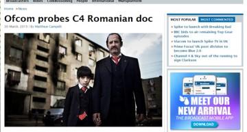 """CNA-ul Britanic (Ofcom) investighează Channel 4, după avalanșa de plăngeri pentru modul în care seria """"The Romanians are Coming"""" a portretizat comunitatea românească"""