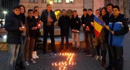 Foto-Video: 7 aprilie 2015, Bucureștiul a comemorat victimile regimului Voronin de la 7 aprilie 2009