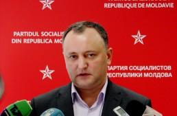 Igor Dodon s-a transformat într-un pericol pentru ordinea constituțională a statului Republica Moldova