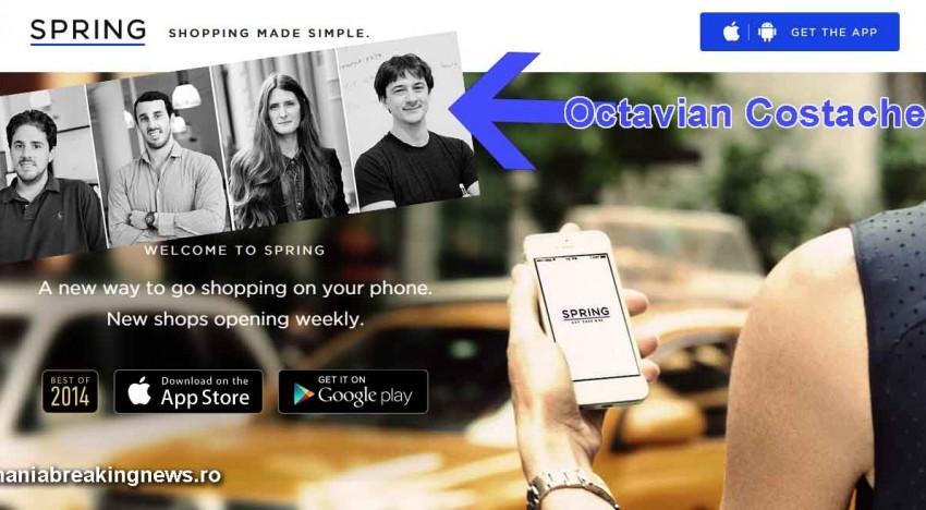 Exemplu și inspirație pentru tinerii români! Octavian Costache, un român de succes! 25 de milioane USD a primit pentru o aplicație de cumpărături