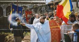 """Foto-Video/Mitropolia Basarabiei și MAE-DPRRP, împreună pentru piatra de temelie a centrului social-cultural """"Filantropia"""" din Orhei (R. Moldova)"""