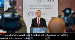 Stoltenberg: NATO este alături de Franța împotriva terorismului