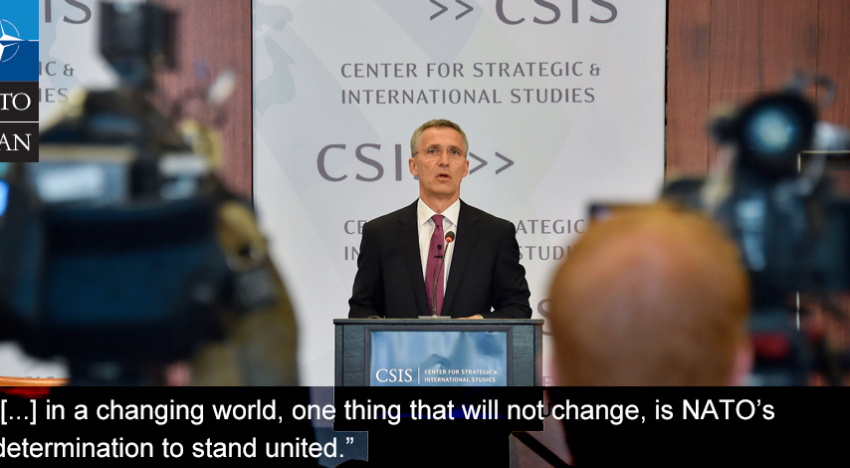 Stoltenberg/NATO: Donald Trump va respecta toate angajamentele SUA legate de NATO