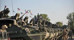 S-a pornit Marșul Cavaleriei! U.S. Army din 2d Cavalry Regiment si Forțele Terestre Române