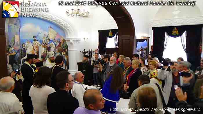 Sfintirea_Centrului_Cultural_Roman_Cernauti