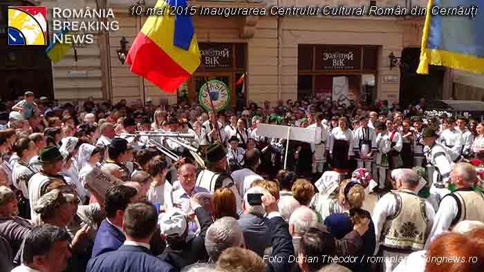 ZIUA NAȚIONALĂ A ROMÂNIEI – MOMENT DE MĂREAȚĂ SĂRBĂTOARE LA CERNĂUȚI – CAPITALA BUCOVINEI ISTORICE