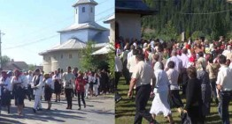 Biserica și școala contribuie din plin la păstrarea tradițiilor românești. Sărbătoarea de Rusalii în Carpații Românești