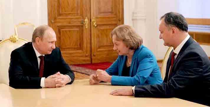 Greanîi și Dodon la dispoziția lui Putin