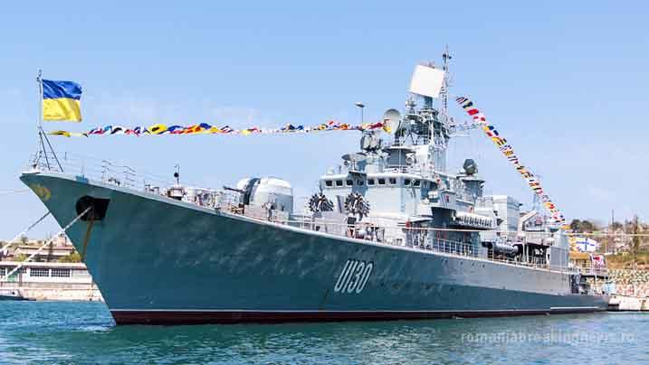 Fregata ucraineană U130 - Hetman Sahaydachniy