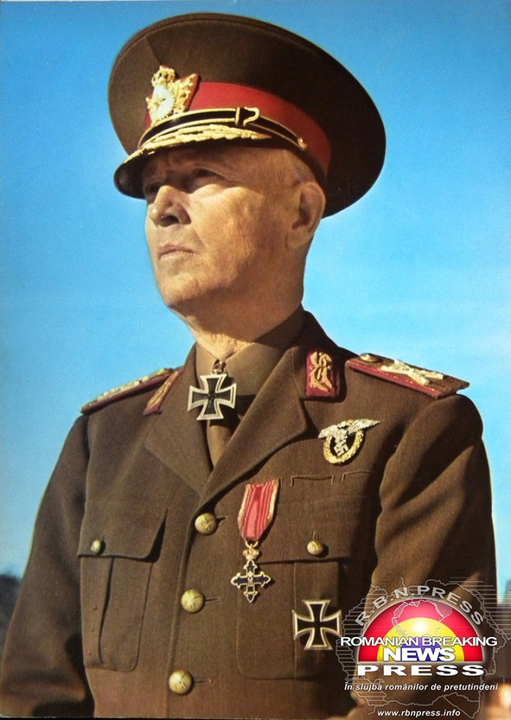 Mareșal Ion Antonescu /imagine pusă la dispoziția România Breaking News - RBN Press de redactor - Daniel Siegfriedsohn / 2013