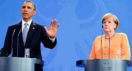 """Barack Obama și Angela Merkel: se mențin sancțiunile împotriva Rusiei, până când """"va respecta suveranitatea Ucrainei"""""""