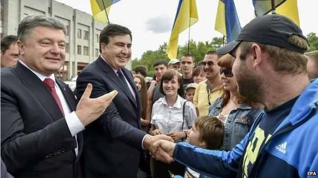 Fostul președinte Georgian, Mihail Saakașvili, a fost numit guvernator al regiunii Odessa de președintele Petro Poroșenko. Azi își mai amintește cineva de administrația românească a primarului Pântea?