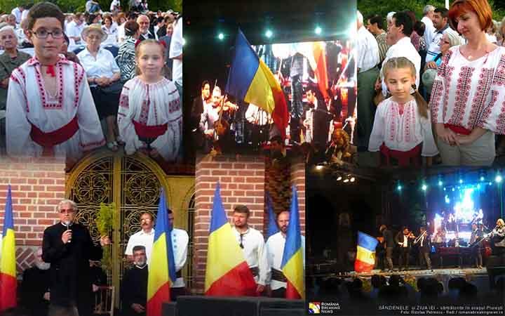 """La Ploiești, de Sânziene și Ziua Iei, cântând """"Deșteptă-te române"""", Nicolae Voiculeț a trezit cu naiul său și orga…"""