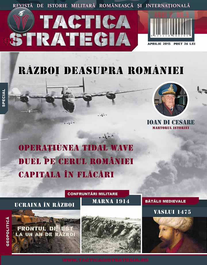 TACTICA și STRATEGIA nr.3 (Coperta)