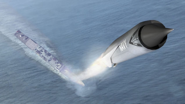 The Navy's Smart New Stealth Anti-Ship Missile Can Plan Its Own Attack