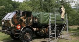 România donează bunuri armatei Ucrainei