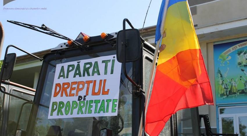 Rezoluție a fermierilor din raionul Dubăsari, Rep.Moldova, cu privire la interzicerea accesului la pământurile de pe traseul Râbnița-Tiraspol