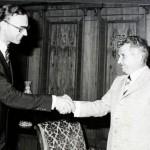Intalnire intre Nicolae Ceaușescu și un emisar al FMI