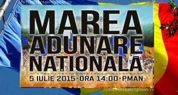 R. Moldova – 5 iulie 2015. Marea Adunare Națională – (Re)scriem, (re)facem, (re)UNIM!  Subiectul alegerilor a trecut, și anunțăm deschis pe cel al (re)Unirii cu România!
