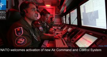 NATO a activat unul din primele Sisteme (dislocabile) de Control și Comandă Aerian, în Pogio Renatico, Italia. Sistemul va acoperi 10 milioane de kilometri pătrați