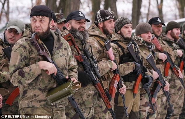 Foto-Video. Batalioanele Islamice ale morții – în linia întâi a ambelor tabere de pe frontul din Ucraina
