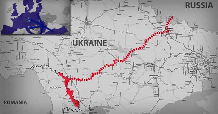 Propaganda rusă! România, Ucraina și R. Moldova sprijinite de NATO pornesc război în Transnistria