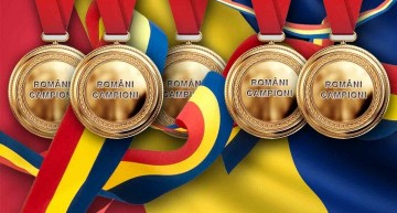 Weekend de 5 stele pentru România: 5 medalii de aur la competiții internaționale!