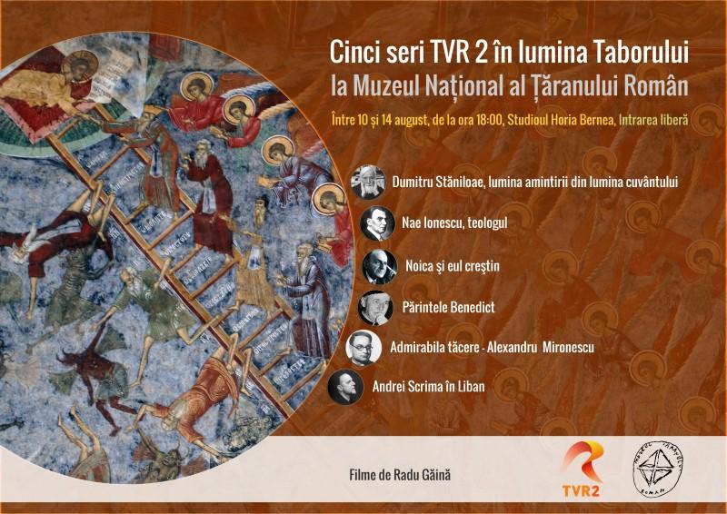 Cinci seri TVR 2 în lumina Taborului