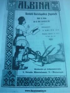 în ALBINA, Revistă Enciclopedică Populară, 27 septembrie 1915, este anunțată moartea lui Grigore Ioan.