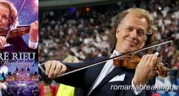 Mulțumim André Rieu, pentru felul în care ai promovat cultura și folclorul din România, pentru sprijinul artiștilor români.