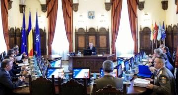 CSAT: Decizii privind Carta Albă a Apărării, Strategia de ordine publică și contribuția la forțele de menținere a păcii de sub egida ONU