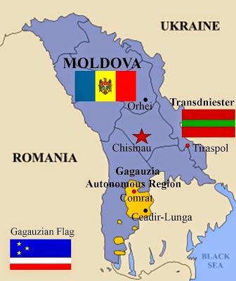 Spațiul etnic găgăuz din R. Moldova