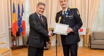 Franța recunoaște profesionalismul Serviciului Român de Informații. G-ral. Florian Coldea a fost distins cu însemnele de Cavaler al Ordinului Național al Meritului