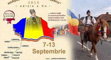 CINSTINDU-NE EROII NE PĂSTRĂM DEMNITATEA NAȚIONALĂ! ROMÂNI, VENIȚI LA MARȘUL LUI AVRAM IANCU!