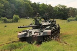 TR 85 - principalul tank de luptă al armetei române - în acțiune