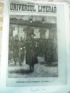 UNIVERSUL LITERAR , 19 DECEMBRIE 1911. Sărbătorirea eroului Grigore Ioan