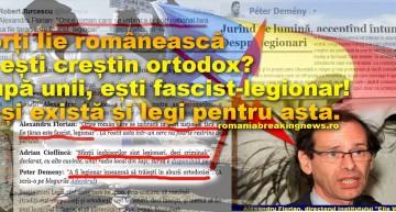 Revoltător! Porți Iie românească și ești creștin ortodox? După unii, ești fascist-legionar! … și există și legi pentru asta.