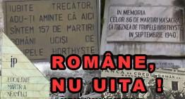 Trăznea -10 septembrie 1940! La intrarea în comună câțiva copii români ieșiseră cu vitele la păscut,  …toți au fost împușcați de horthyști