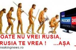 """Propaganda rusă lovește fenomenul Unionist! Pervîi Canal: """"România va trimite armata și va instala o administrație românească iar acesta va fi sfârșitul independenței Moldovei"""""""