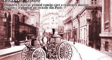 Cu mult înaintea lui Ford și Daimler! Paris 1880! Un român, Dumitru Văsescu iese cu mașina construită de el, pe stradă și îi lasă pe locuitori cu gura cascată
