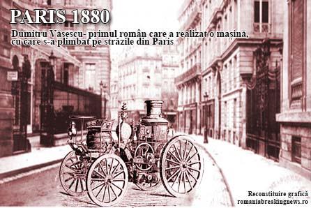 Automobil - Dumitru Văsescu /recontituire grafică cu titlu de prezentare