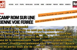 Manifest! Români nu rromi! Opriți presa franceză sa ne murdarească identitatea! Articol dedicat tuturor francezilor care se lasă manipulați de presa care intenționat pune egal între rromi și români.