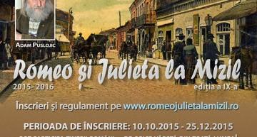 """Festivalul de Poezie și Epigramă """"Romeo și Julieta la Mizil"""" la ediția a IX-a"""
