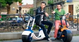 Inteligența românească! La Arad se produce primul scooter românesc hi-tech. Vezi cum arată!