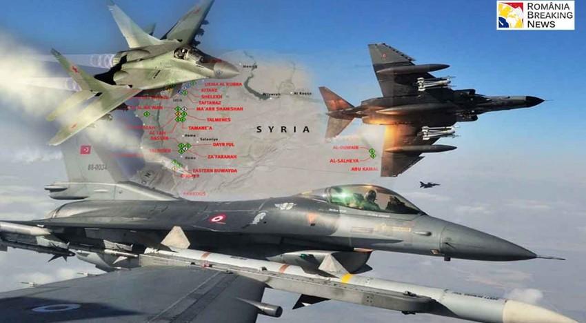 Tensiunea crește între Turcia și Rusia după ce un alt avion de vânătoare rus de tip Su-34 a violat spațiul aerian turc